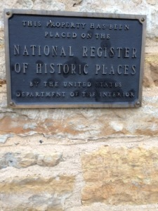 Nat Historic Placque